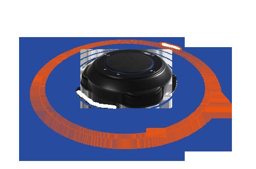 Parfaitement conçu pour les salles moyennes à grandes capture du son sur 360°.
